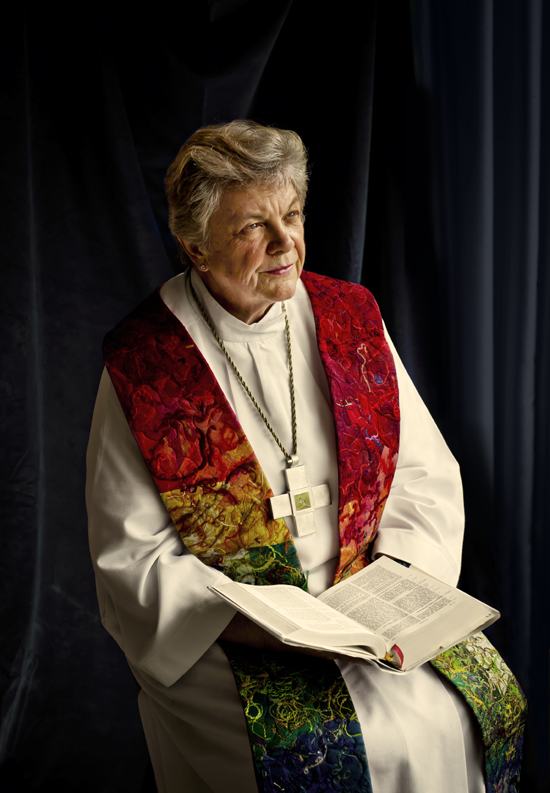 Bishop Patricia Fresen. Photograph by Judith Levitt
