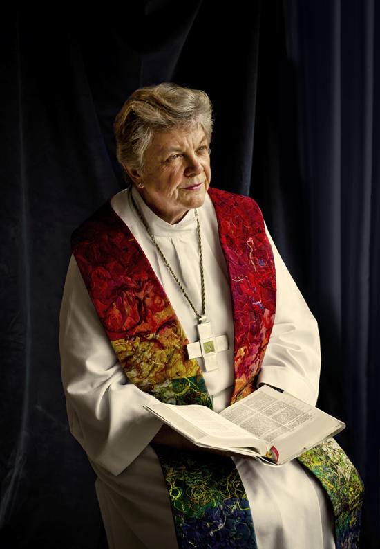 Bishop Patricia Fresen. Photograph by Judith Levitt