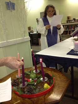 Advent-wreath-lighting