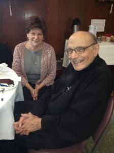 Fr John at 90