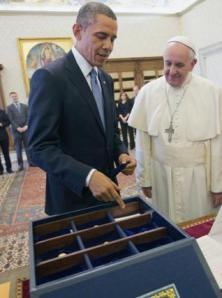 President's gift to Pope