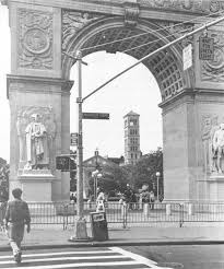 Judson through arch
