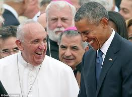 Francis and Barack